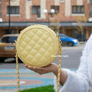 Круглая (желтая)7