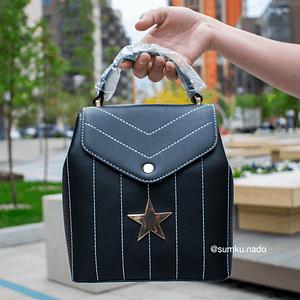 Рюкзак со звездой (черный)7