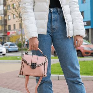 Ретро цепь (розовая)