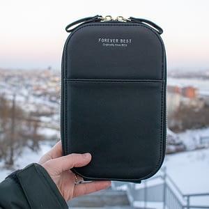 Сумочка-кошелек «Maria» (черная)1