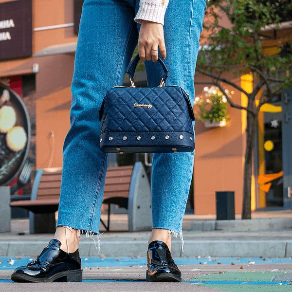 Мягкий чемоданчик (синяя)