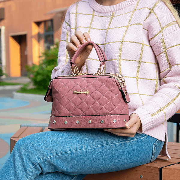 Мягкий чемоданчик (розовая)
