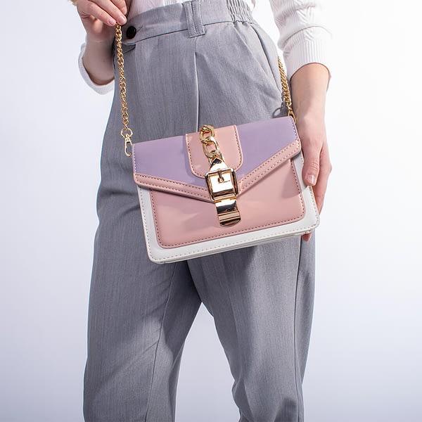 Сумка «Luxu» (розово-фиолетовая)