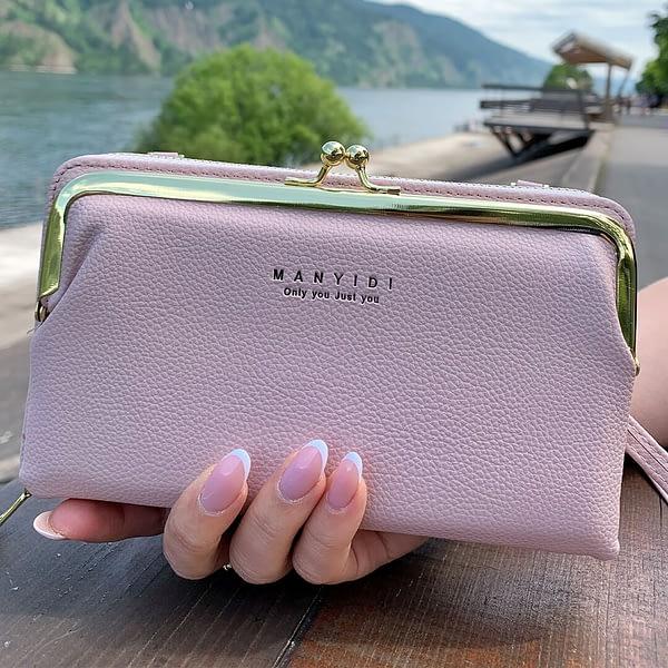 Сумка-кошелек «Aveiro» горизонтальная (розовая)1